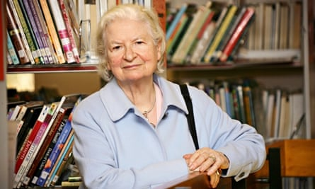 PD James at the Essex book festival in 2007