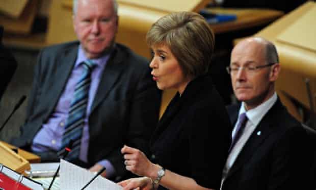 Nicola Sturgeon debates Smith report