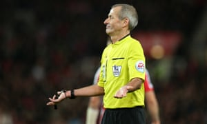 Is Martin Atkinson paid enough when you consider the abuse he and other referees endure every week?