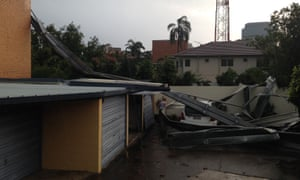 Brisbane storm damage