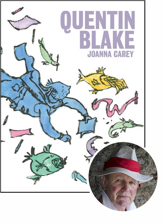 Michael Morpurgo selects Quentin Blake by Joanna Carey