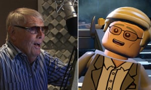 Adam West plays both Batman and himself in the new Lego game.