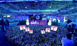 world record Christmas lights