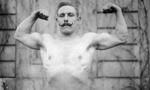 Vasseur, French weightlifter, 1908.