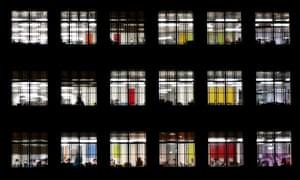 office block colour