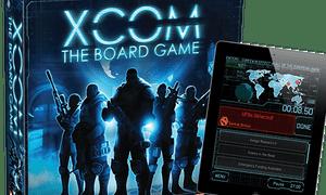 The XCom board game – and companion app.