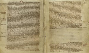 Verse account of Magna Carta in the Melrose Chronicle