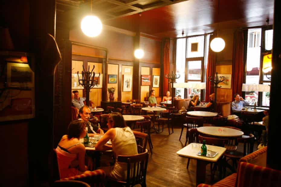 Cafe Hawelka.