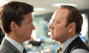 Kevin Spacey (right) facing off against Jason Bateman in film Horrible Bosses.