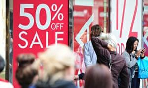 Summer Sales On Oxford Street