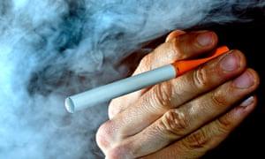 An e-cigarette