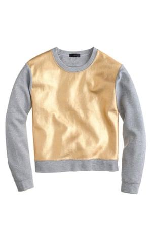 gold jumper