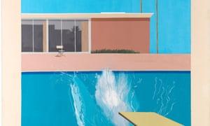 A Bigger Splash, 1967 by David Hockney