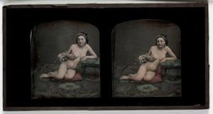 Nude, c1855.