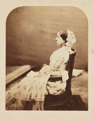Queen Victoria, c.1856, Roger Fenton