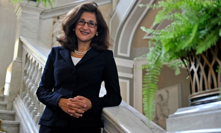 IMF deputy managing director Shafik is pictured during the Ambrosetti workshop in Cernobbio