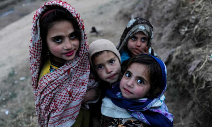 Afghan refugees living in Islamabad.