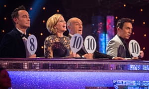 The Strictly Come Dancing Judges.