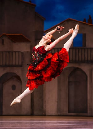 'It's a huge-scale performance, but what strikes you is its intimacy': Marianela Nuñez in Don Quixote.