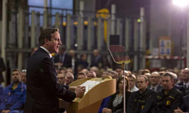***BESTPIX*** Prime Minister David Cameron Delivers A Speech On Immigration
