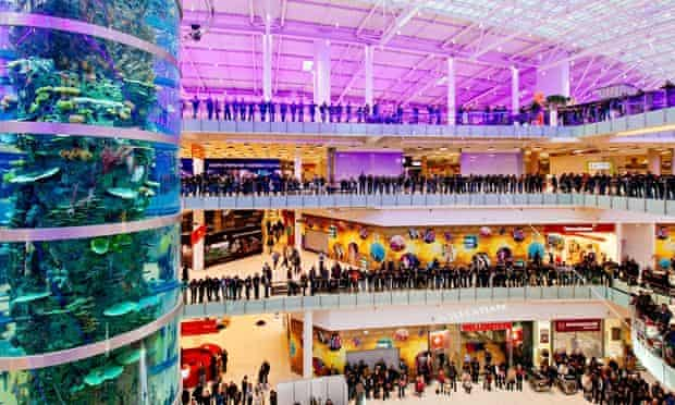 opening of Moscow's Aviapark mall
