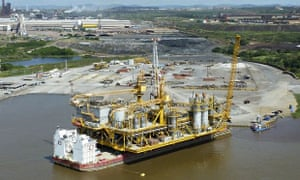 First oil platform built in Venezuela by state-owned company PDVSA
