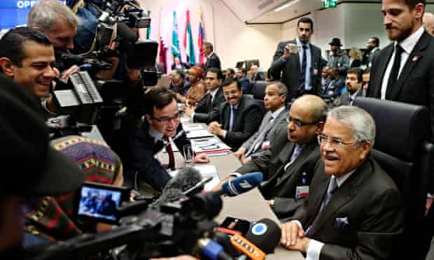 Oil ministers in Vienna for meeting of Opec, the cartel of producers, as oil touched $73 a barrel, t