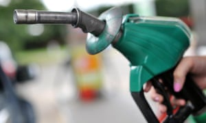 Lower prices at the petrol pump would help the Bank of England keep interest rates low.