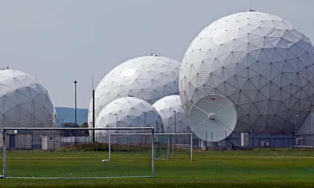 German intelligence agency radio domes near Munich