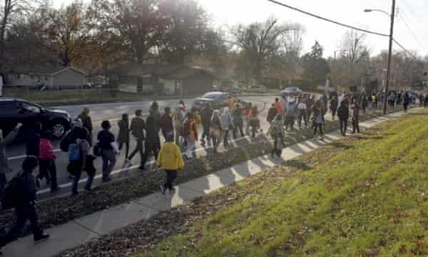 Ferguson marchers