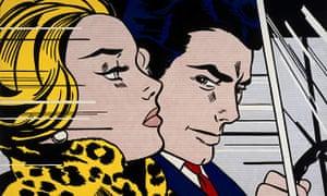 Pop to Popism Roy Lichtenstein's In the Car (1963)