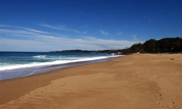 A beach in Coffs Harbour