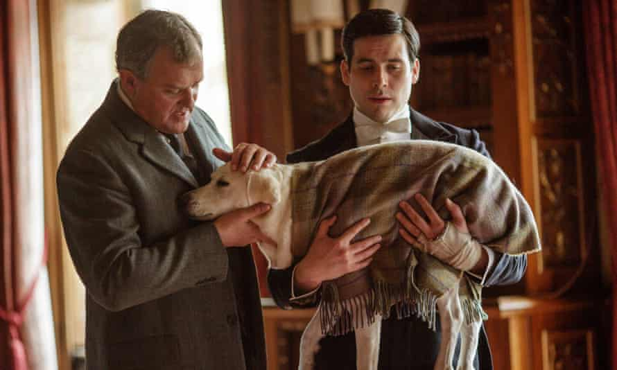 Downton Abbey Isis the dog