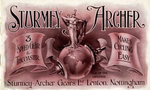 Sturmey Archer advertisement