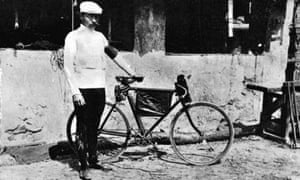 Maurice Garin, winner of the inaugural Tour de France in 1903