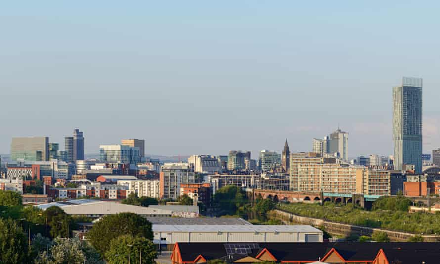 Manchester's skyline