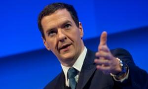 George Osborne, the chancellor