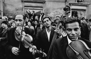 Gypsy music festival, Straznice, Czechoslovakia, 1966