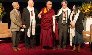 Dalai Lama and scientists