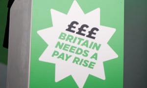 Britain Needs A Pay Rise rally