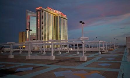 The Trump Taj Mahal Casino.