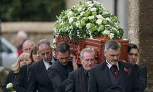 Funeral Of Lynda Bellingham