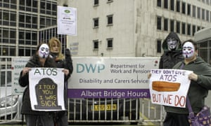 ATOS demonstration held in Manchester