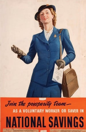 This original artwork poster was issued by the Department for National Savings, and was used in a 1946 campaign