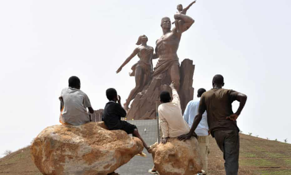 The African Renaissance Monument in Dakar was built by Mansudae artists in North Korea.