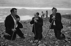 The Croagh Patrick pilgrimage, County Mayo, Ireland, 1972