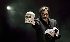 He can pelvic-thrust with his larynx … Matt Berry as Steven Toast. Photograph: Kuba Wieczorek