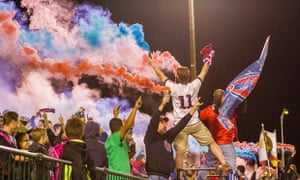 Indy Eleven fans
