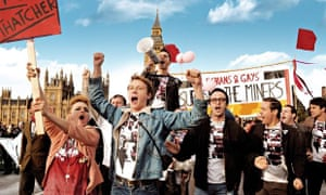 George MacKay, Joe Gilgun and Paddy Considine star in Pride, which looks at gay and lesbian activist