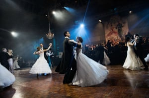 More than 100 debutantes took part in the Russian ball